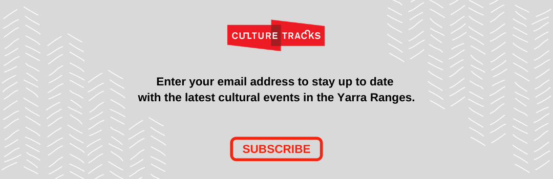 Sign up for Culture Tracks e-newsletter