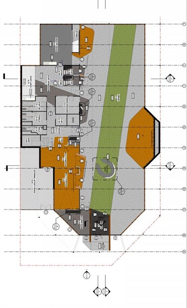 Belgrave Library ground level plan