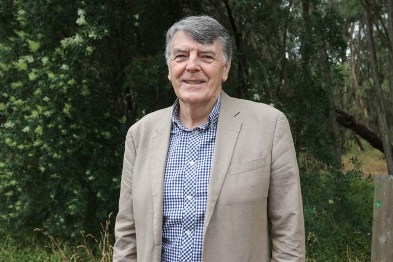 Ian De La Rue Award recipient, Mike O'Meara OAM.